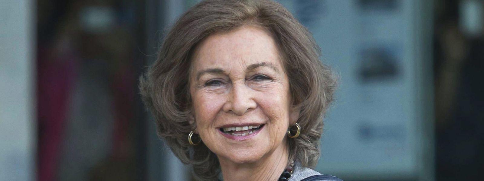 Ex-Königin Sofía von Spanien