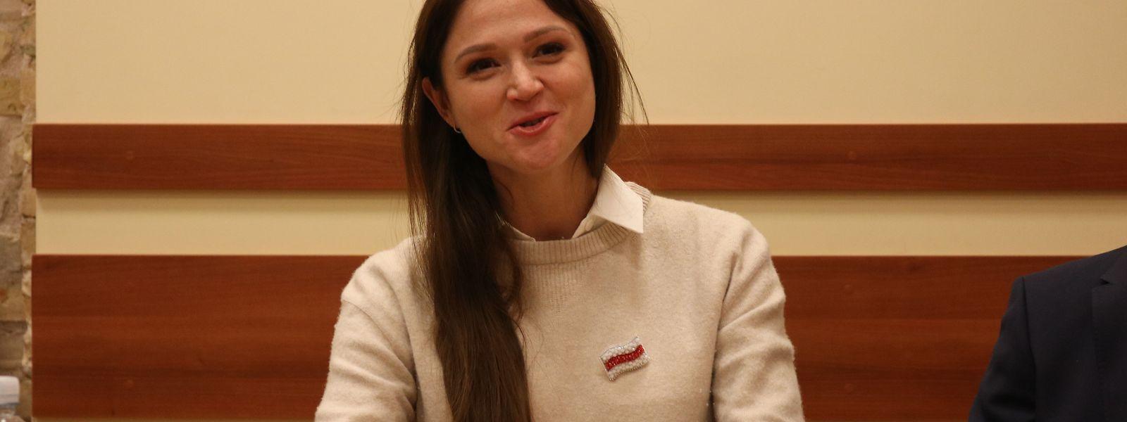 Alexandra Gerassimenja stellt sich offen gegen den Machtapparat in Minsk.