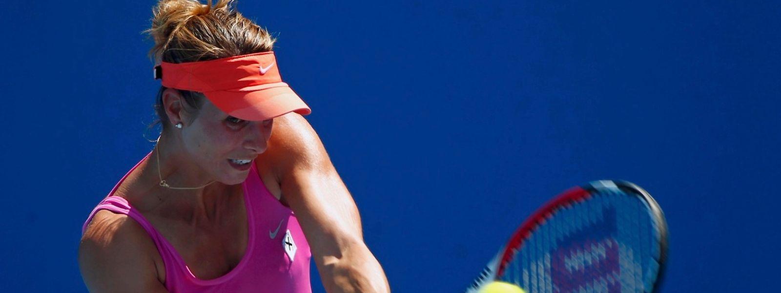 Fin de parcours en double pour Mandy Minella à l'Open d'Australie à Melbourne