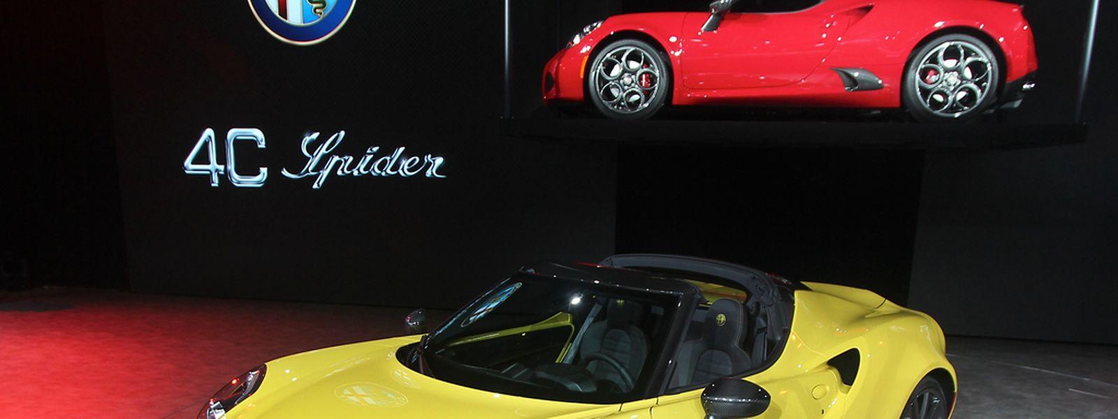 Kompakt, leicht und oben offen:der Alfa Romeo 4C Spider.