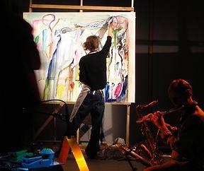 peinture et musique live: LUMA LUMA meets Chris PILLOT