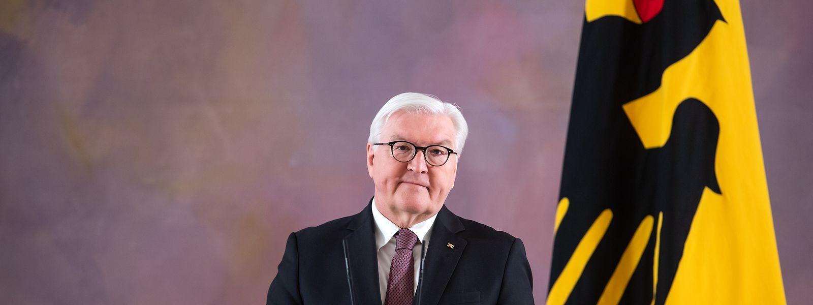 Bundespräsident Frank-Walter Steinmeier hat im Schloss Bellevue erklärt, dass er für eine zweiten Amtszeit bereit steht.