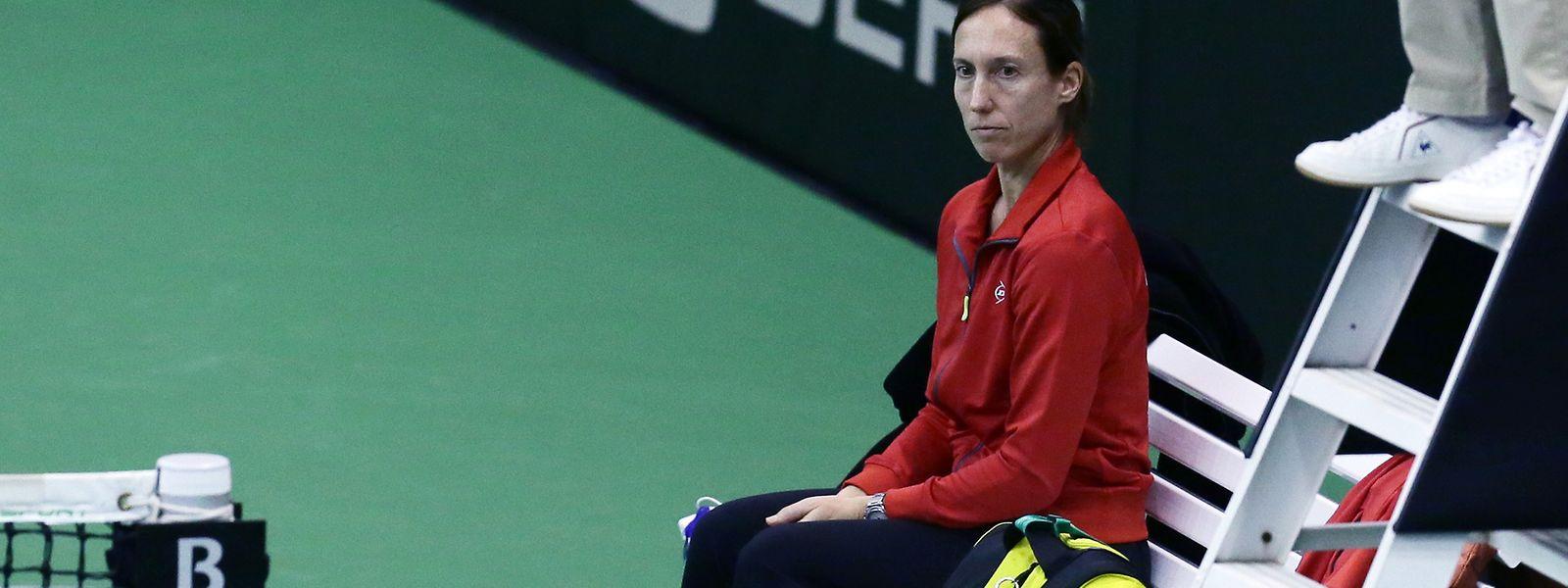 Anne Kremer ist dem Luxemburger Tennis als Fed-Cup-Kapitänin erhalten geblieben.