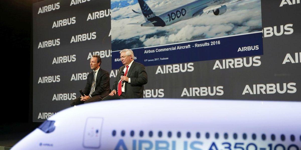 Airbus hat im vergangenen Jahr soviel Verkehrsflugzeuge ausgeliefert wie noch nie.