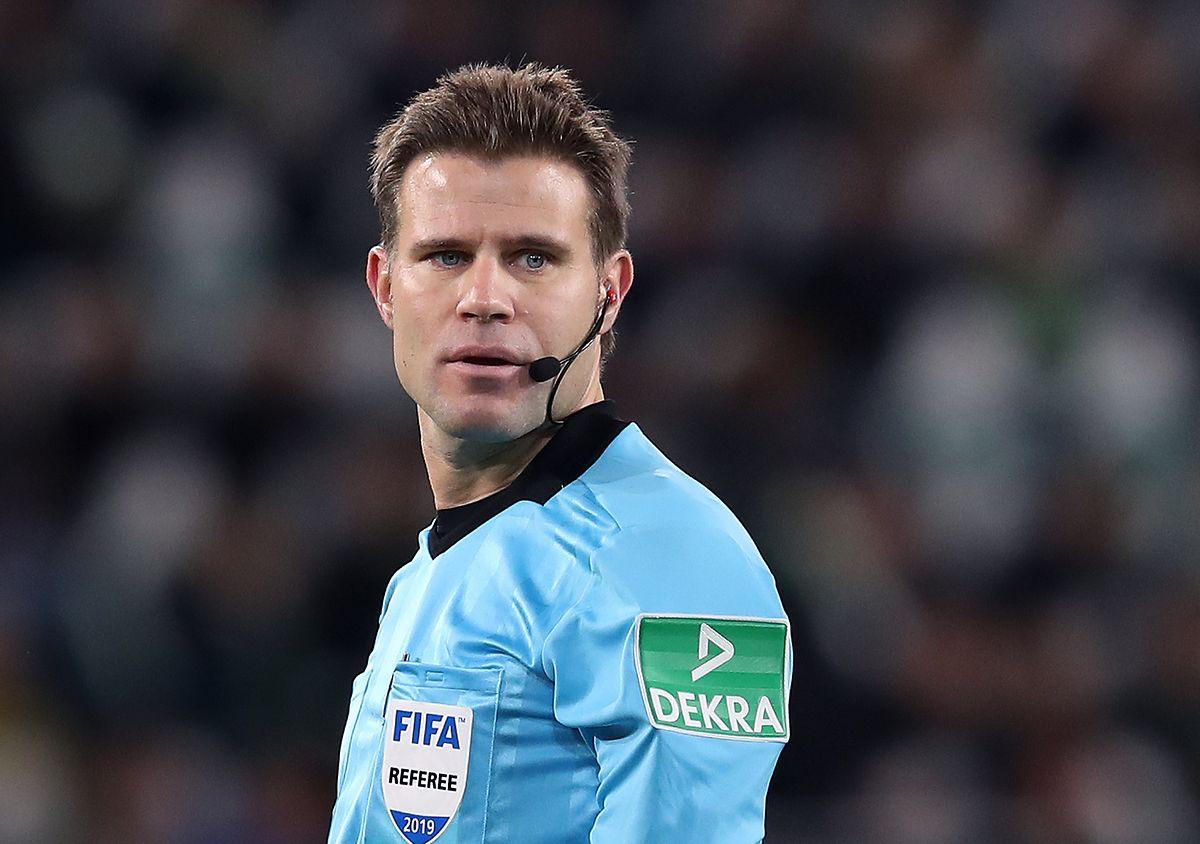 Der Deutsche Felix Brych ist einer der EM-Schiedsrichter.