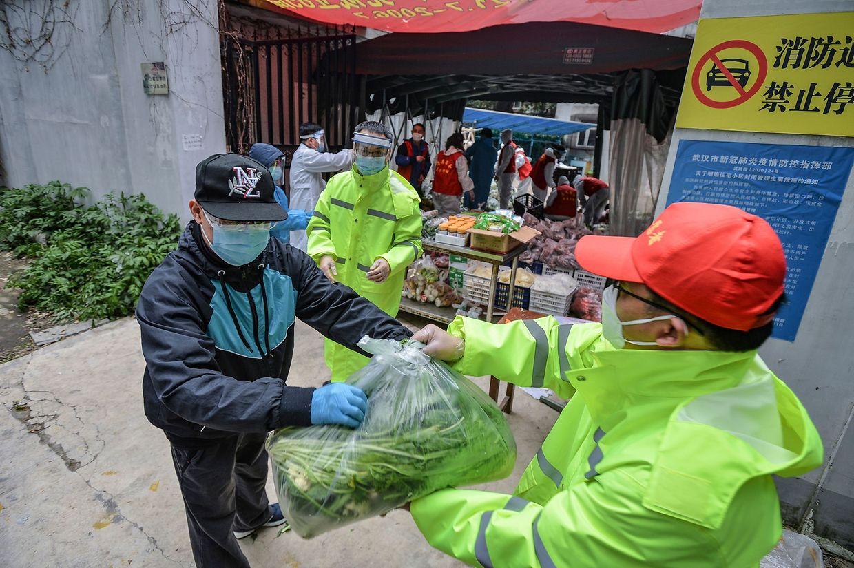 In China gelten weiterhin strengste Hygienevorschriften.