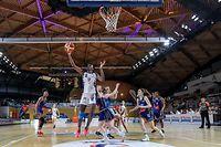 Adama Coulibaly (12 Esch)basket ball - lalux ladies cup 1/2 finale - 02-02-2020 - Basket Esch-Telstar - La coque Luxembourg foto : Vincent Lescaut