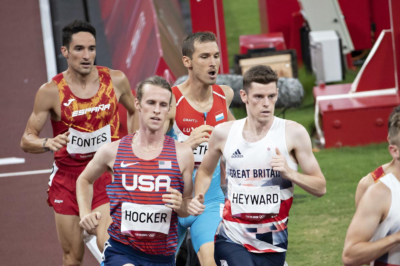 Charel Grethen, 1500m Finale, Leichtathletik / Olympia, Olympische Spiele, Tokio 2020 / 07.08.2021 / Olympic Stadium, Tokio / Foto: Christian Kemp