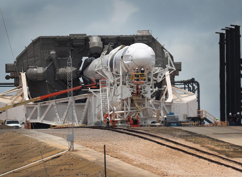 Am Mittwochabend (MEZ) startet die SpaceX Falcon 9 in Florida.