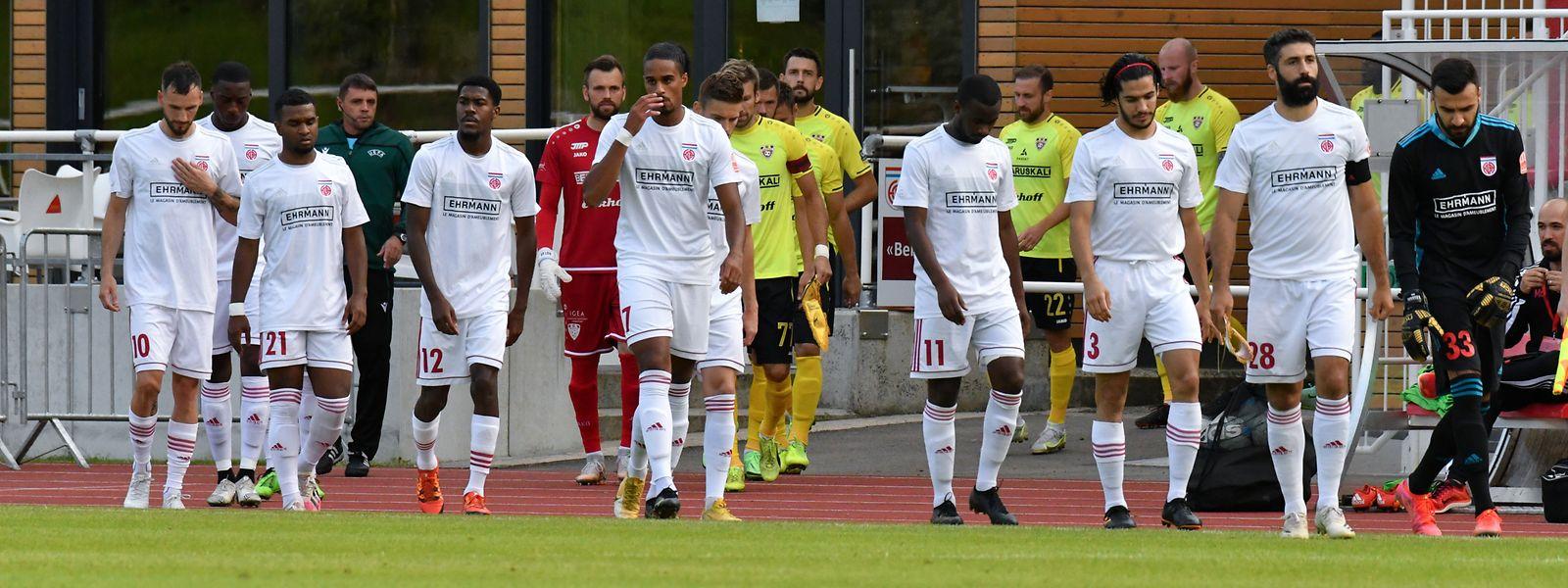 Keine Zeit zum Verschnaufen: Meister Fola Esch stürmt im Europapokal von Sieg zu Sieg.