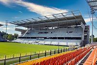 Chantier Tribune Sud Stade St Symphorien