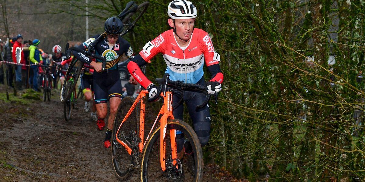 A l'instar de Scott Thiltges, Sören Nissen ne s'est pas imposé avec son maillot de champion national.