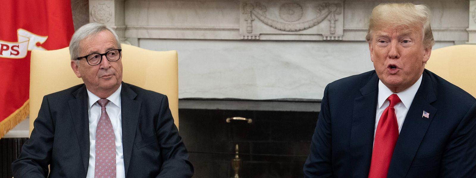Die beiden Spitzenpolitiker trafen sich am Mittwochabend.