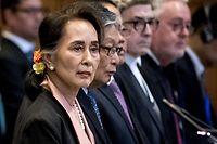 Einst als Hoffnungsträgerin gefeiert, wird Aung Suu Kyi immer mehr zur Persona non grata auf internationalem Parkett.