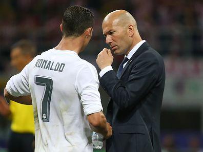 Zinédine Zidane et Cristiano Ronaldo, les artisans de la 11e Ligue des champions du Real Madrid.