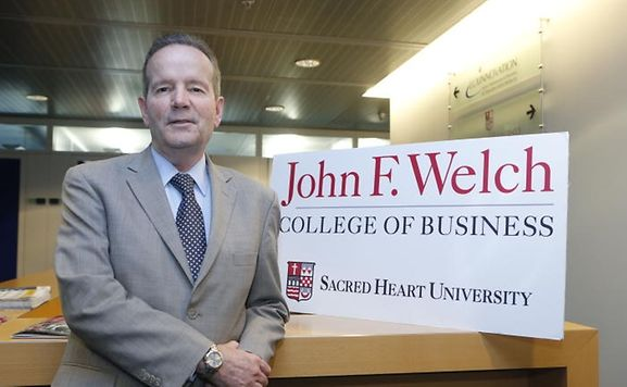 Dean of Sacred Heart's John F. Welch Business College Dr John Chalykoff.