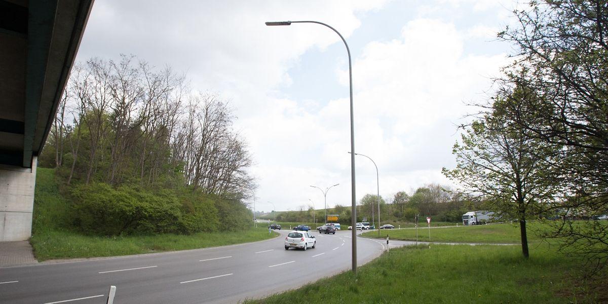 """Vom Chaoskreisel zum """"Turbo-Rond-Point"""": Ab Ende dieses Jahres soll der """"Iergäertchen"""" in sieben Etappen umgestaltet werden, um den Verkehr flüssiger zu gestalten."""