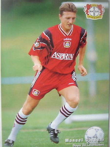 Manuel Cardoni läuft nur ein Mal in der Bundesliga auf.