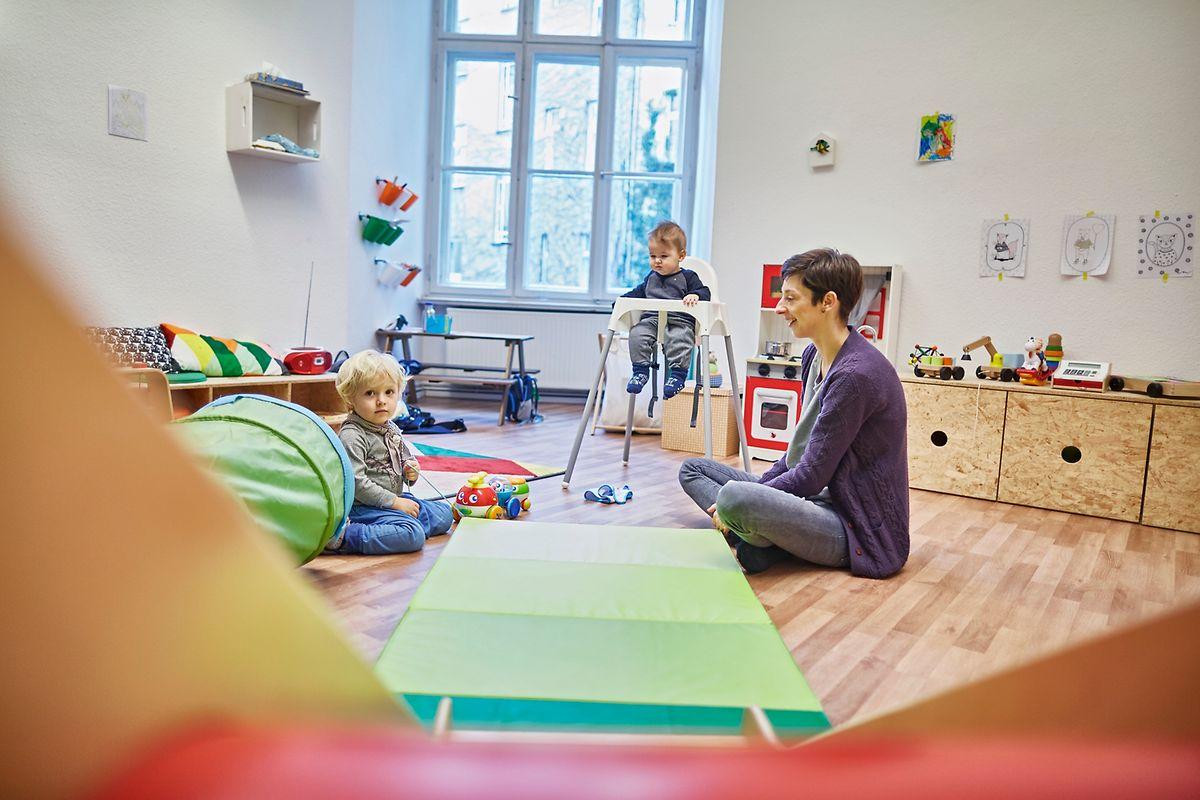 Flexible Kinderbetreuung anzubieten, stellte sich als größte Herausforderung für die Gründerinnen heraus.