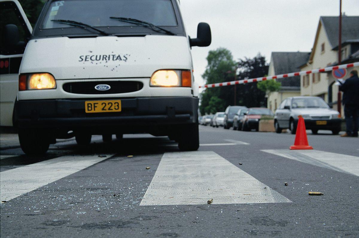 Überfall auf einen Geldtransport am 20.Juli 2001 in Lamadelaine.
