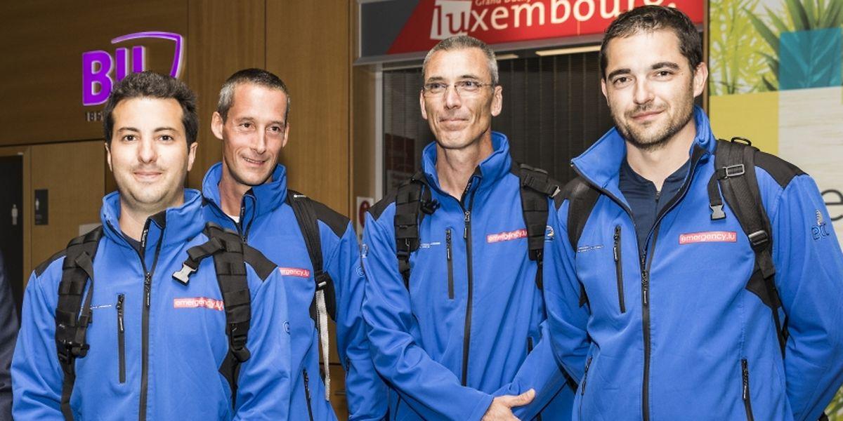 Vier Freiwillige aus Luxemburg waren vor Ort, um zu helfen. Am Mittwoch sind sie wieder in Luxemburg eingetroffen.