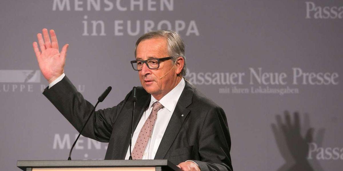 In Bayern forderte Juncker, die EU-Außengrenzen besser zu kontrollieren.
