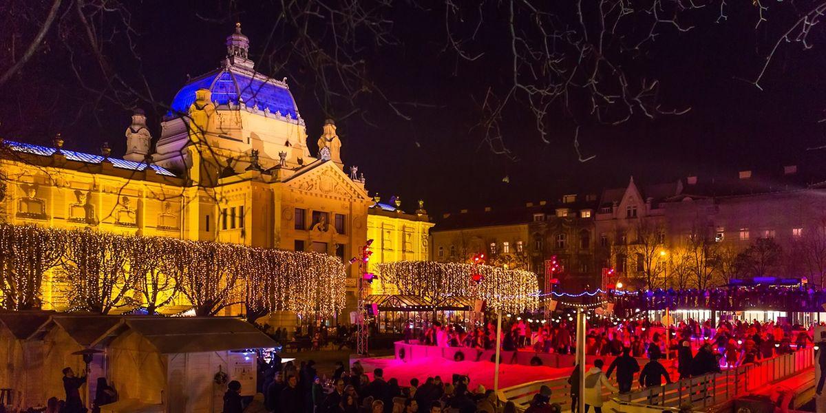 Si la Croatie est généralement plus connue pour ses plages et la beauté de ses côtes sur l'Adriatique, la réputation de Zagreb en tant que destination idéale pour Noël ne cesse de grandir.