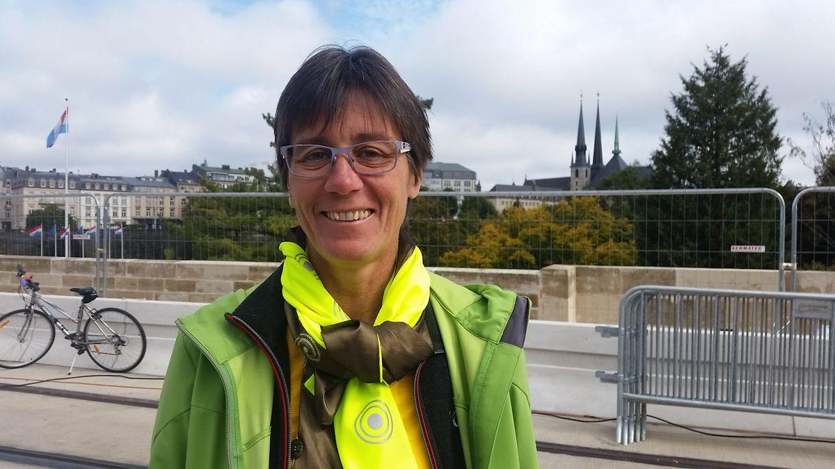 Monique Goldschmit, présidente de la LVI