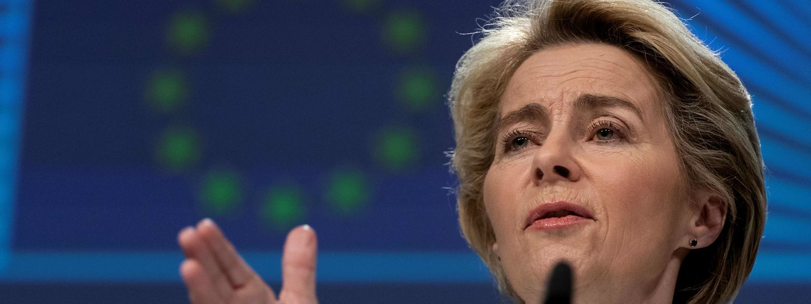 La nouvelle présidente de la Commission a fixé un objectif ambitieux pour la protection du climat