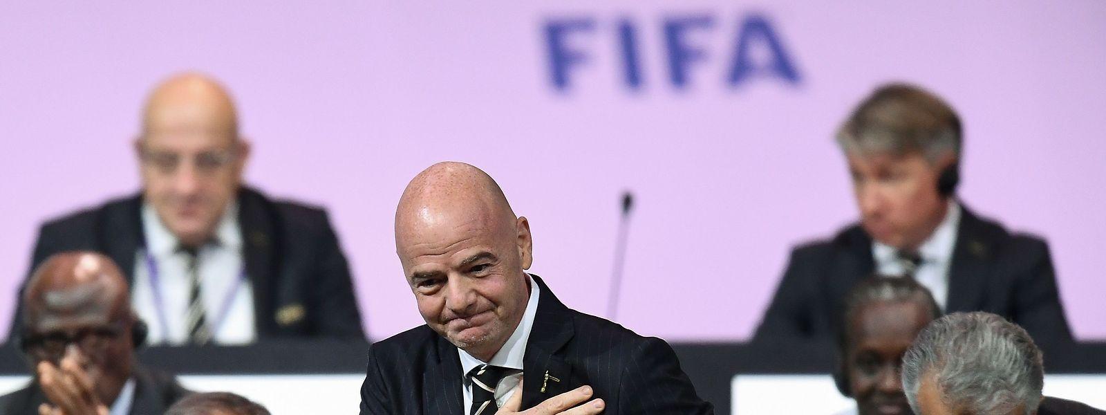«Notre monde et notre sport seront différents quand nous reviendrons à la normale», assure Gianni Infantino