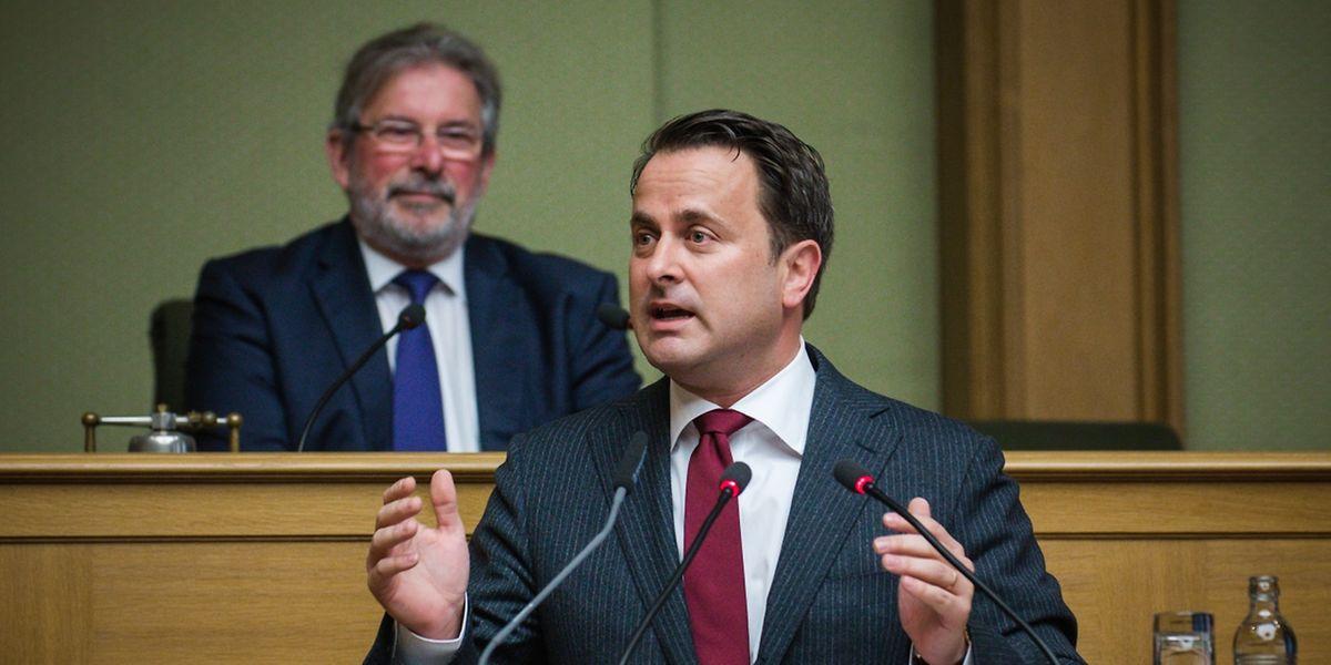 Nach seiner Rede zur Lage der Nation erntet Premier Xavier Bettel Lob und Tadel.