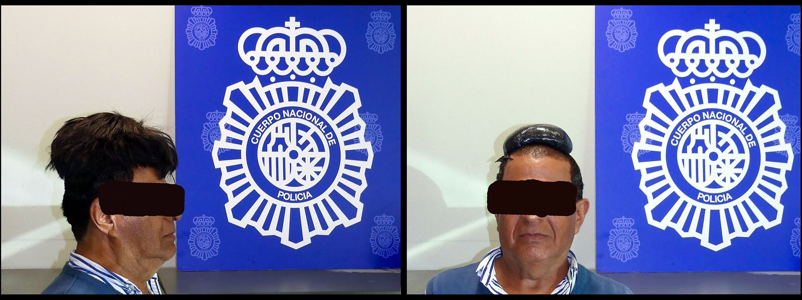 Der Verdächtige auf einem Polizeifoto.