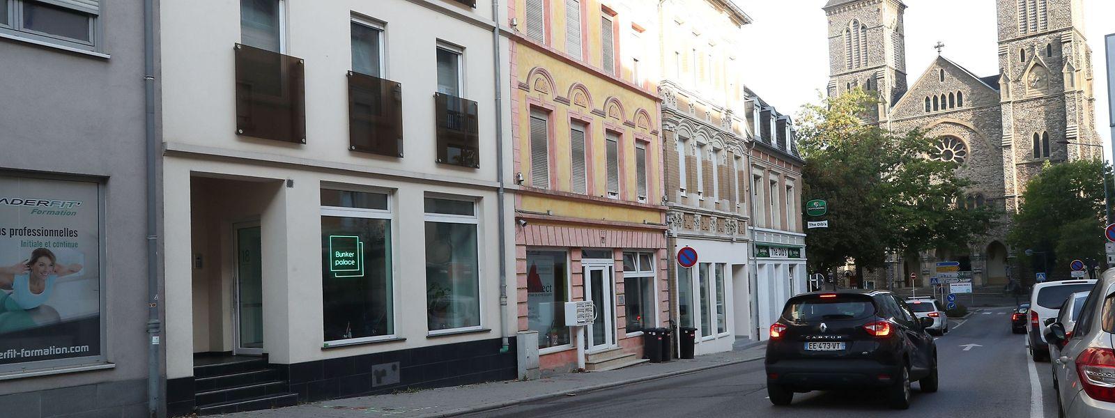 Am Montag sollen die Baumaschinen in der Rue du Commerce anrücken.