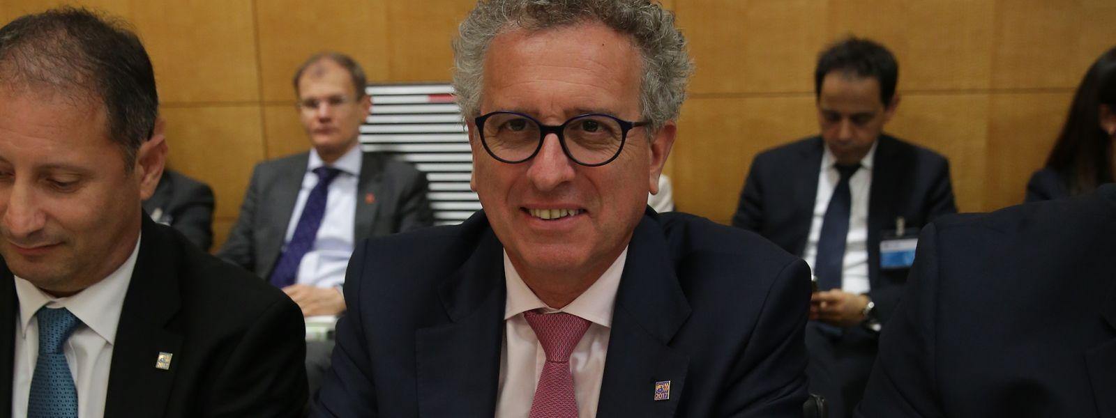 Pierre Gramegna unterschrieb am Mittwoch ein Steuerabkommen von über 70 Ländern in Paris.
