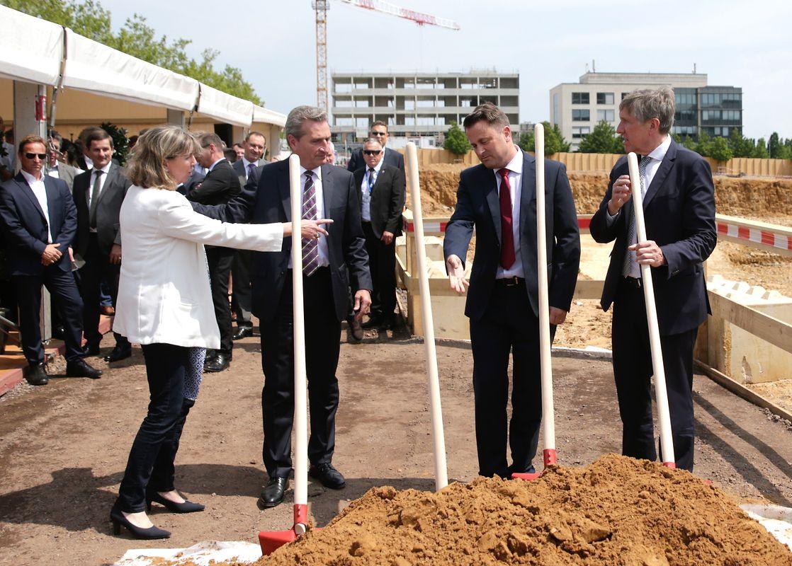 Auch Bürgermeisterin der Stadt Luxemburg Lydie Polfer war dabei.