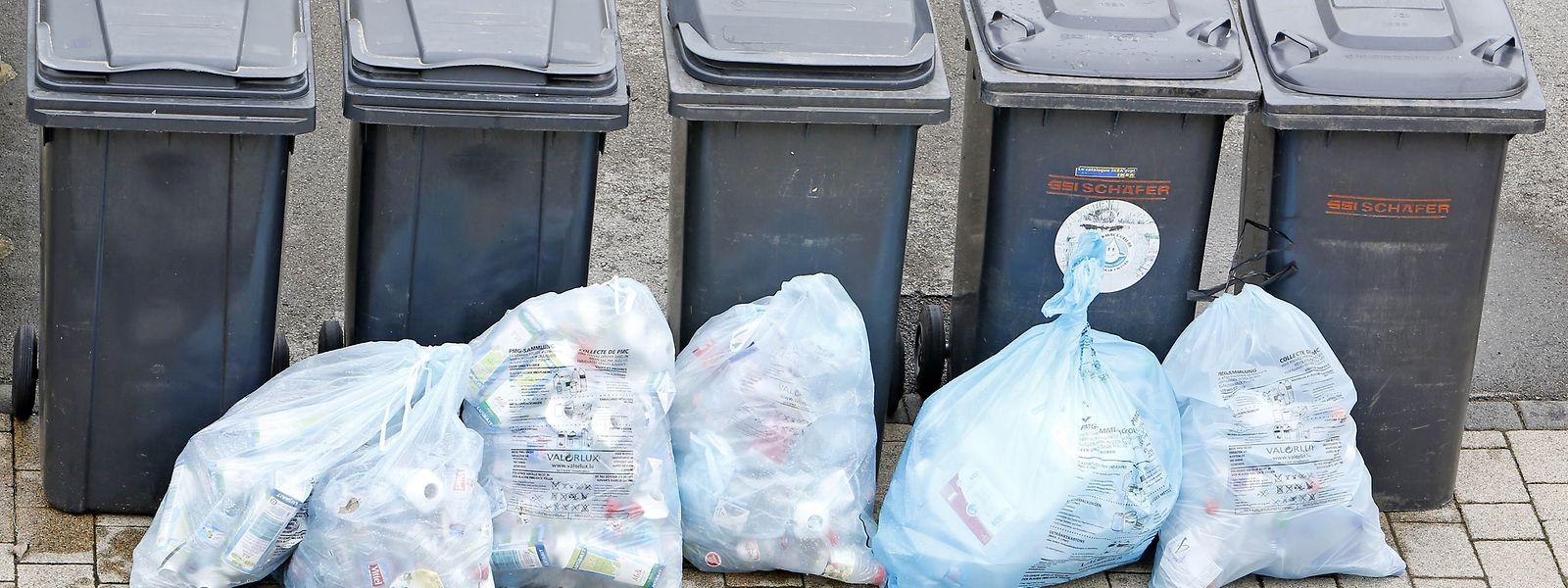 En moyenne, chaque Luxembourgeois produit 96 kg/an d'emballages à retraiter.