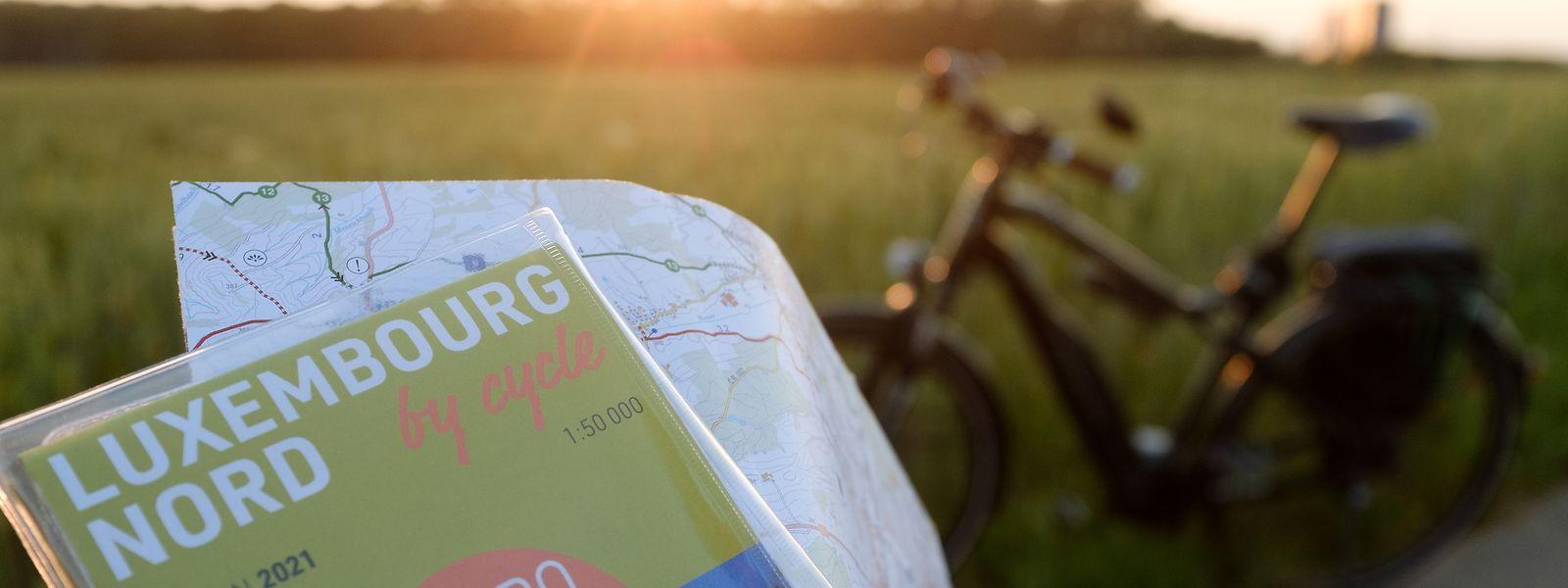 Die neuen Karten im Maßstab 1:50000 kommen mit allen für Fahrrad-Touren erforderlichen Detailinformationen.