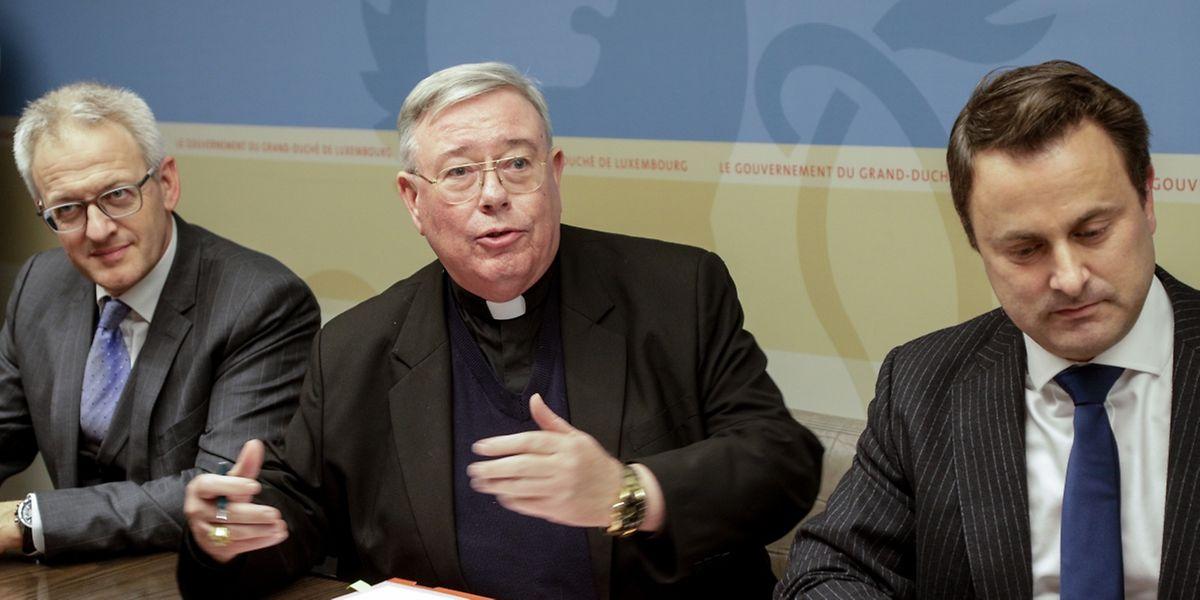 Erzbischof Hollerich sah sich nicht in der Lage, das Abkommen zu unterzeichnen.