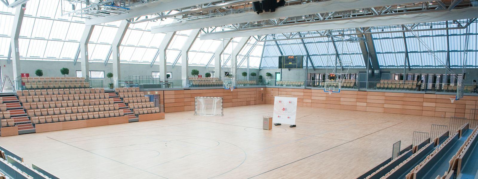 Im Centre Atert dürfen die Nachwuchstalente wieder Basketball spielen.