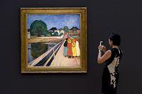 """""""Mädchen auf der Brücke"""" ist das zweitteuerste Munch-Bild."""