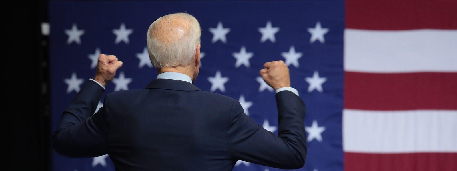 Der demokratische Präsidentschaftskandidat Joe Biden am 1. November 2019 in Des Moines, Iowa.