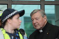 Der Finanzchef des Vatikans, George Pell, muss sich in Melbourne vor Gericht verantworten.