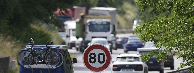 Tempo 80 auf Landstraßen soll Leben retten.