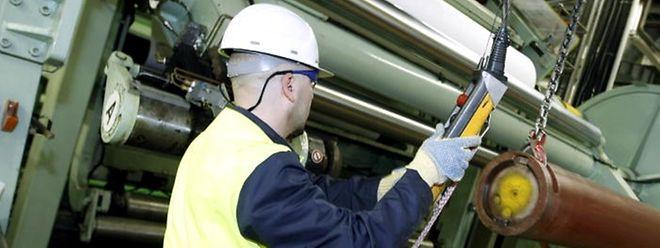 L'activité industrielle a régressé au troisième trimestre.