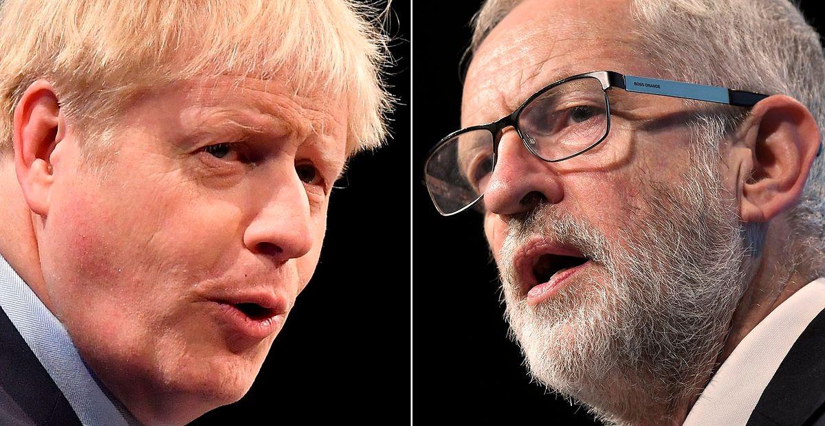 Am 19. November werden Boris Johnson (Conservatives) und Jeremy Corbyn (Labour) im TV-Duell gegeneinander antreten.