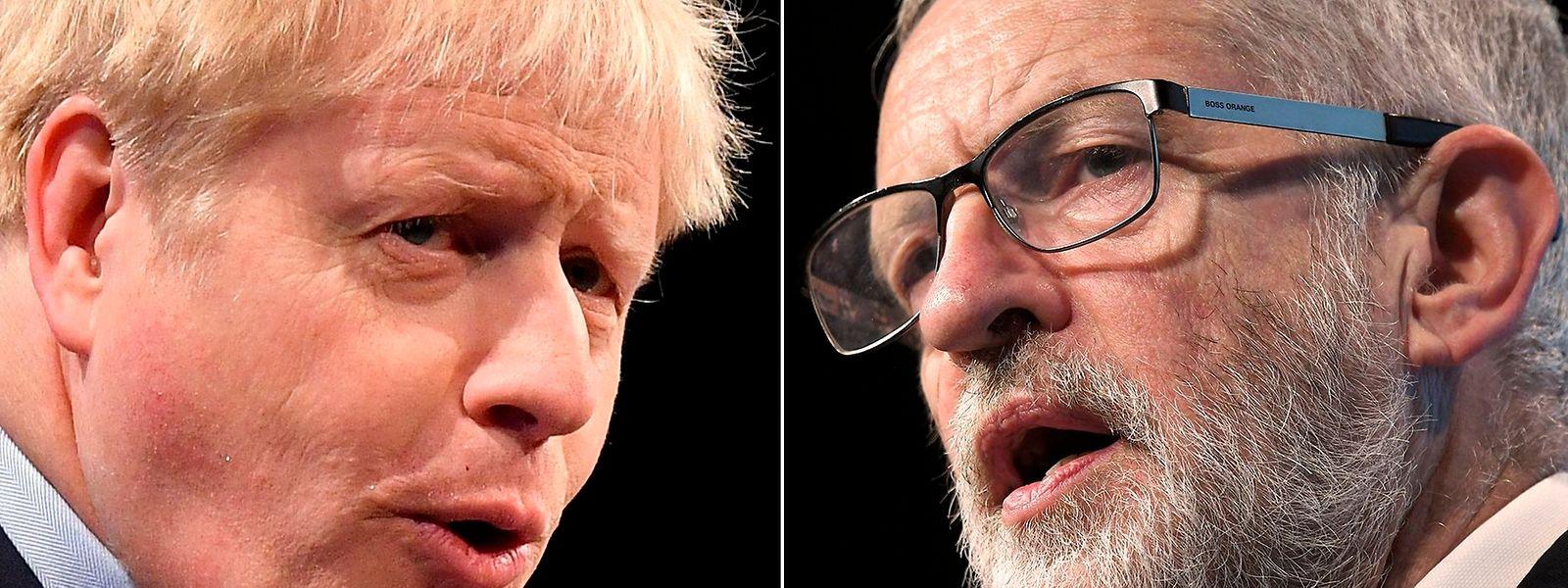 Das letzte TV-Duell: Boris Johnson (Konservative) muss sich gegen Jeremy Corbyn (Labour) behaupten.