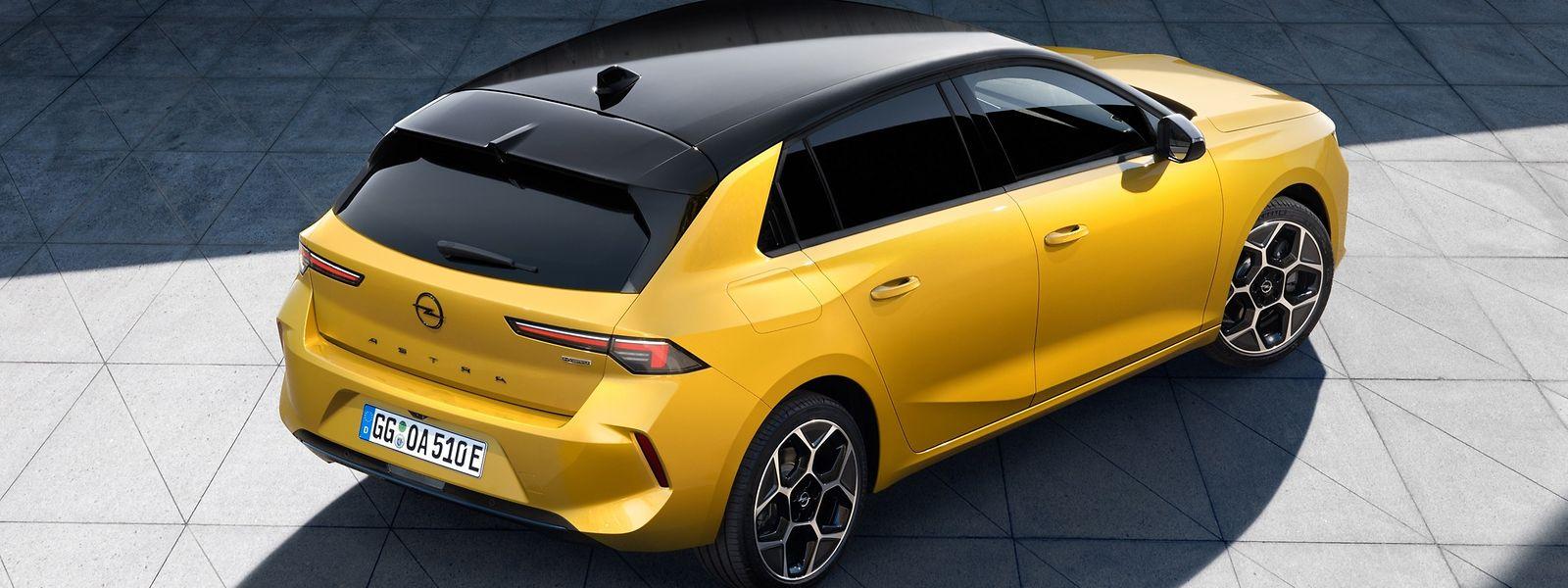 Als Benziner, Diesel, Plug-in-Hybrid und ab 2023 auch vollelektrisch: der neue Opel Astra.