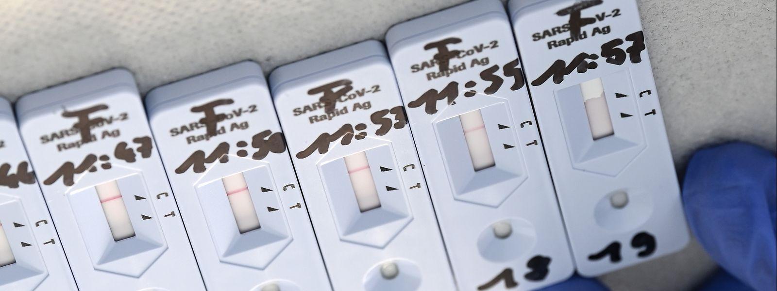 L'introduction des tests rapides pourrait être un facteur de ralentissement de l'épidémie, en détectant au plus tôt les cas.