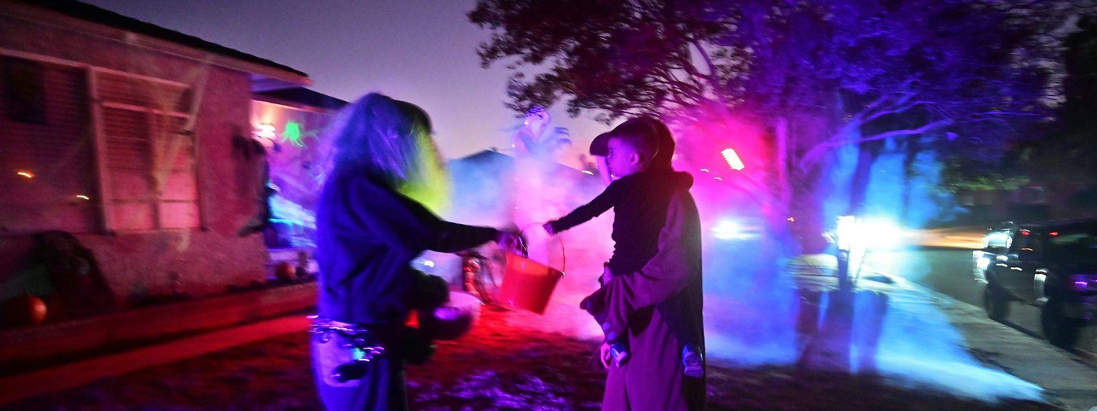 Noite de Halloween nos Estados Unidos