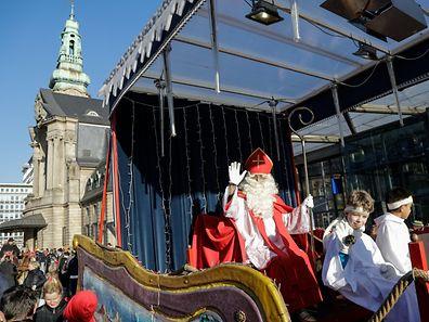 Le Kleeschen a défilé en ville dimanche après-midi